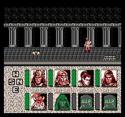 Zrzut ekranu #2 Advanced Dungeons Dragons Heroes Of The Lance
