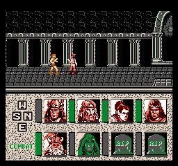 Zrzut ekranu #3 Advanced Dungeons Dragons Heroes Of The Lance