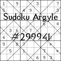 Sudoku Argyle №299941