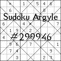 Sudoku Argyle №299946