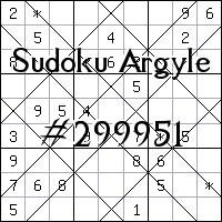 Sudoku Argyle №299951