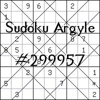 Sudoku Argyle №299957