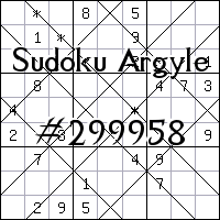 Sudoku Argyle №299958