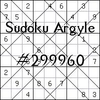 Sudoku Argyle №299960