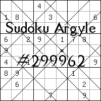 Sudoku Argyle №299962