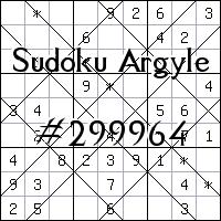 Sudoku Argyle №299964