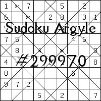 Sudoku Argyle №299970