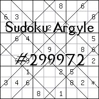 Sudoku Argyle №299972