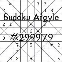 Sudoku Argyle №299979