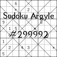 Sudoku Argyle №299992