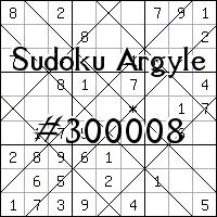 Sudoku Argyle №300008