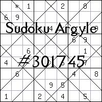 Sudoku Argyle №301745