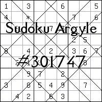 Sudoku Argyle №301747