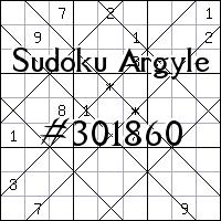 Sudoku Argyle №301860