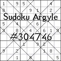 Sudoku Argyle №304746