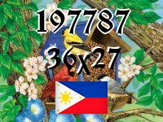 Filipiński puzzle №197787