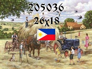 Filipiński puzzle №205036