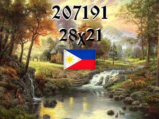 Filipiński puzzle №207191