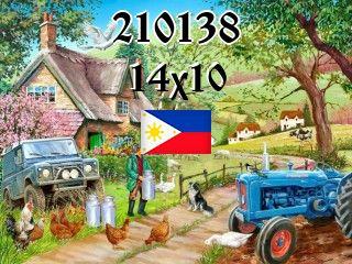 Filipiński puzzle №210138
