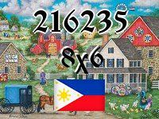 Filipiński puzzle №216235