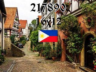Filipiński puzzle №217890