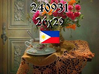 Filipiński puzzle №240931
