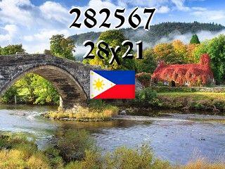 Filipiński puzzle №282567