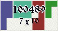 Polyominoes №100489