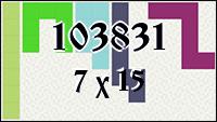 Polyomino №103831