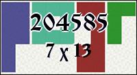 Polyomino №204585