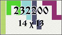 Polyomino №232200