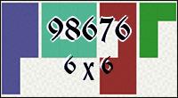 Polyominoes №98676