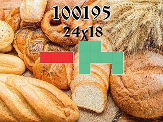 Puzzle polyomino №100195