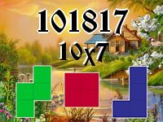 Puzzle polyomino №101817
