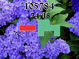 Puzzle polyomino №105784