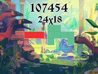 Puzzle polyomino №107454