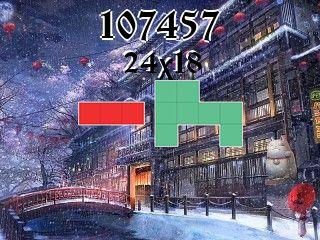 Puzzle polyomino №107457