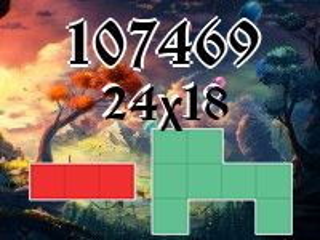 Puzzle polyomino №107469