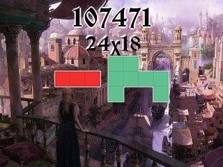 Puzzle polyomino №107471
