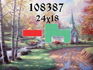 Puzzle polyomino №108387