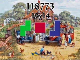 Puzzle polyomino №118773