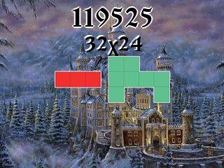 Puzzle polyomino №119525