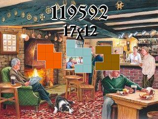 Puzzle polyomino №119592