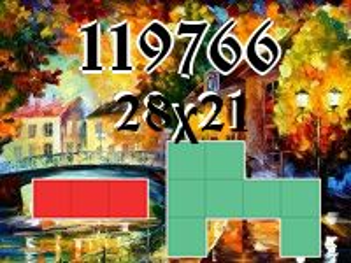 Puzzle polyomino №119766