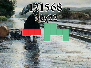 Puzzle polyomino №121568