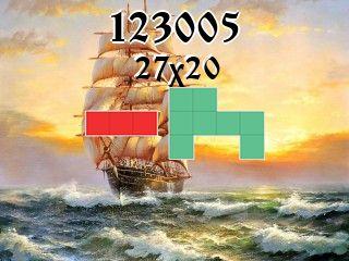 Puzzle polyomino №123005