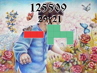 Puzzle polyomino №125509