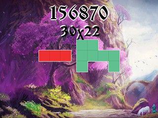 Puzzle polyomino №156870