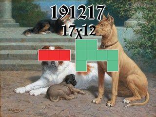 Puzzle polyomino №191217