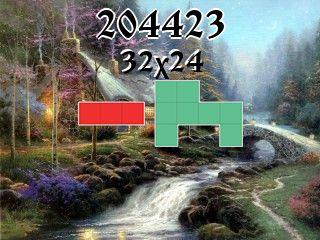 Puzzle polyomino №204423